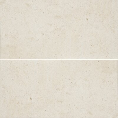 Osso 6 x 12 Limestone Field Tile in Creamy Latte