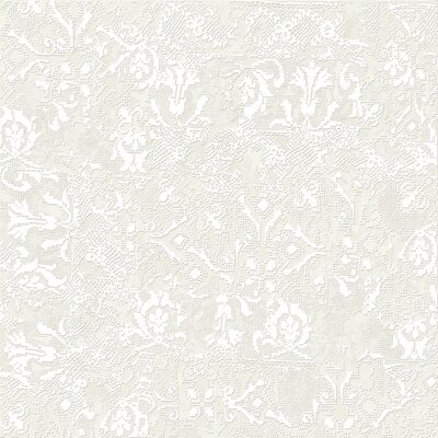 Tapis Blanc 23.5 x 23.5 Porcelain Fabric Look Tile in White