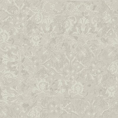 Tapis Gris Clair 23.5 x 23.5 Porcelain Fabric Look Tile in Light Gray