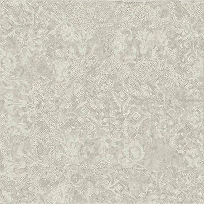 Tapis Gris Clair 23.5 x 23.5 Porcelain Fabric Look Tile in Light Gray