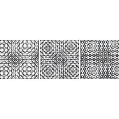 Bargello 8 x 8 Porcelain Field Tile in Gray