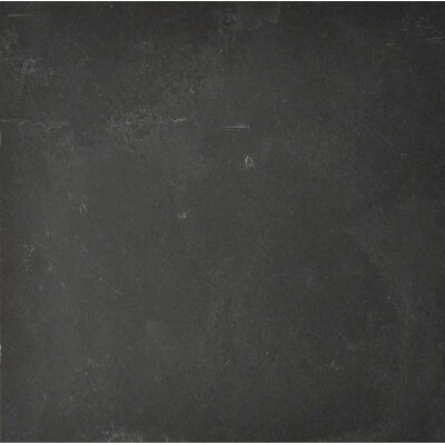 Black Bliss 12 x 12 Slate Field Tile in Black