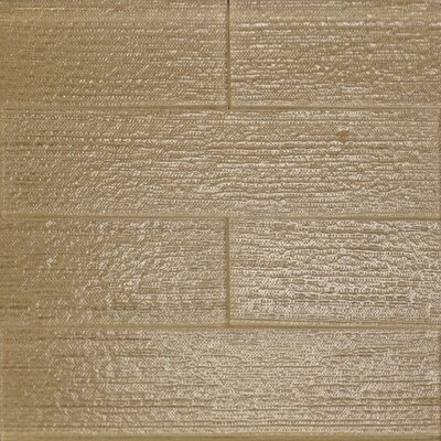 Linen Textured 3 x 12 Glass Subway Tile in Wheat