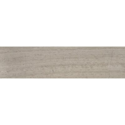 Cerro Hudson 6 x 24 Marble Wood Look/Field Tile in Gray