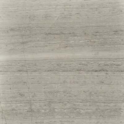 Cerro Hudson 12 x 12 Marble Wood Look/Field Tile in Gray