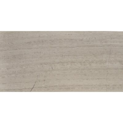 Cerro Hudson 12 x 24 Marble Wood Look/Field Tile in Gray