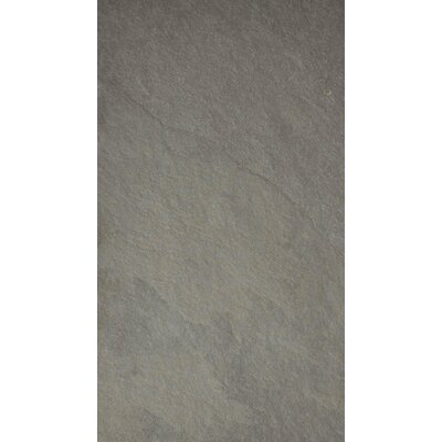 Pewter 12 x 24 Slate Field Tile in Gray