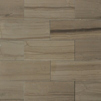 3 x 8 Marble Wood Tile in Yves Rocard