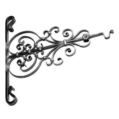 Ornate Steel Sign Holder