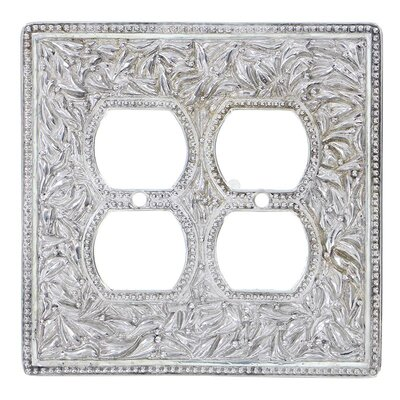San Michele Wall Plate Finish: Polished Silver