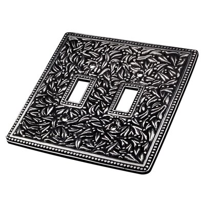 San Michele Wall Plate Finish: Antique Silver