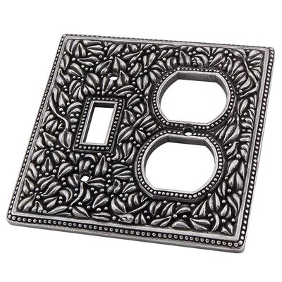 San Michele Wall Plate Finish: Vintage Pewter