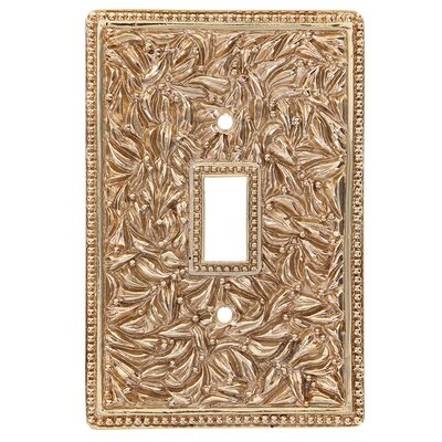 San Michele Wall Plate Finish: Polished Gold
