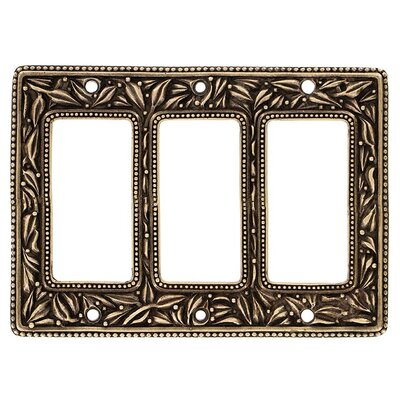 San Michele Wall Plate Finish: Antique Gold