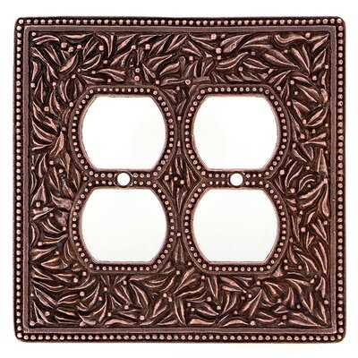 San Michele Wall Plate Finish: Antique Brass