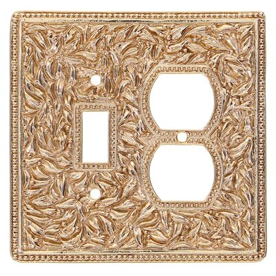 San Michele Wall Plate Finish: Polished Gold