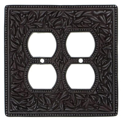 San Michele Wall Plate Finish: Oil-Rubbed Bronze