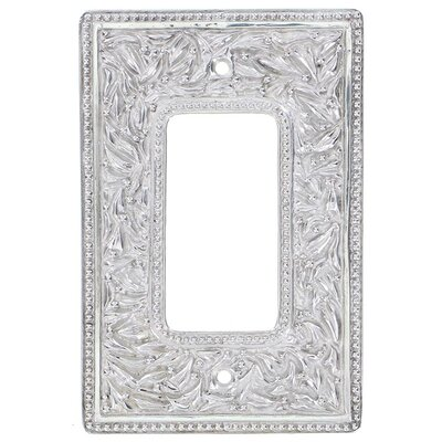 San Michele Wall Plate Finish: Polished Silver