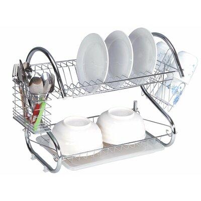 2-Tier Heavy Duty Dish Rack