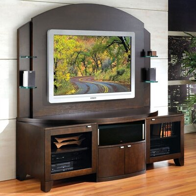 Cheap JSP JSP Bolero Plasma Home Theater Credenza and Back Panel (JSI1043)