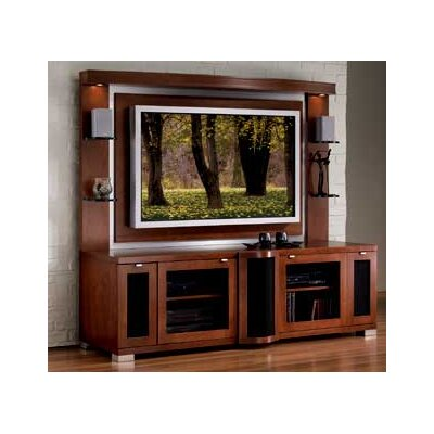 Cheap JSP JSP Allegro Plasma Home Theater Credenza and Back Panel (JSI1041)