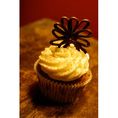 Food and Cuisine Chocolate Cupcake Photographic Print on Canvas Size: 40