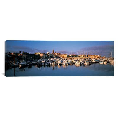 Panoramic Alghero Sardinia Italy Photographic Print on Canvas Size: 16