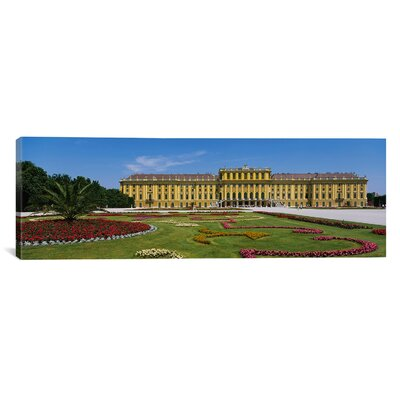 Panoramic Building, Schonbrunn Palace, Vienna, Austria Photographic Print on Canvas Size: 20