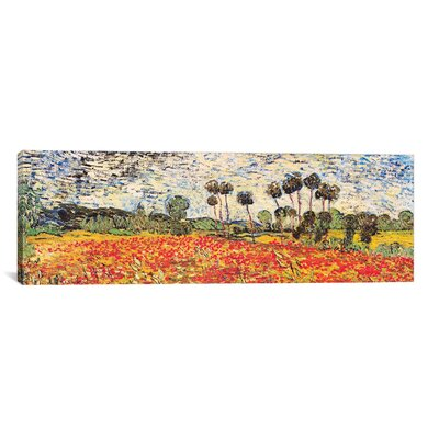 'Field of Poppies' by Vincent Van Gogh Painting Print on Wrapped Canvas Size: 12