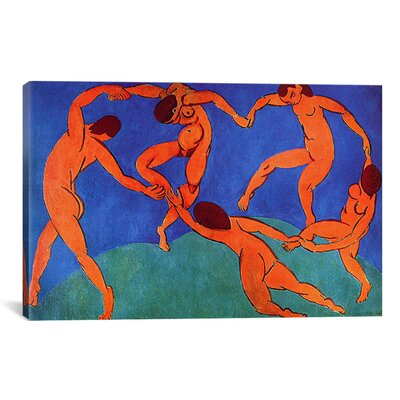 'Dance (II)' 1910 by Henri Matisse Graphic Art on Canvas 11232-1PC3-12x8