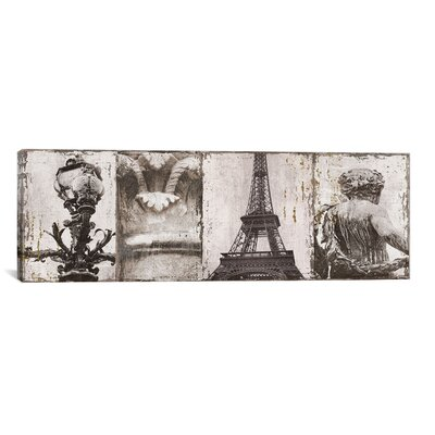 'Details from Paris I' by Pela and Silverman Photographic Print  on Canvas Size: 16