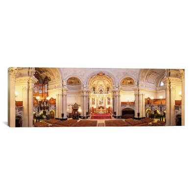 Panoramic 'Berlin Cathedral, Berlin, Germany' Photographic Print on Canvas Size: 20