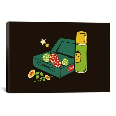 'Lunchtime' by Budi Satria Kwan Graphic Art on Canvas Size: 26