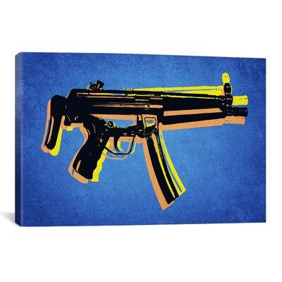 'MP5 SubMachine Gun' by Michael Tompsett Graphic Art on Canvas Size: 8
