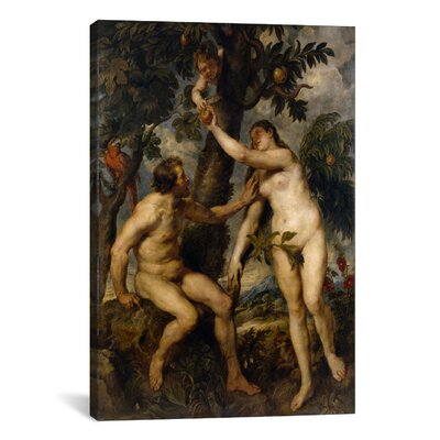 'The Fall of Man' by Peter Paul Rubens Painting Print on Canvas 1504-1PC3-12x8