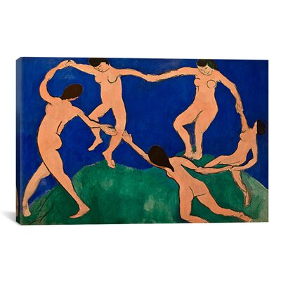 'The Dance I' by Henri Matisse Painting Print on Canvas 11188-1PC3-12x8