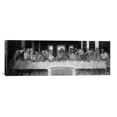 """iCanvasART 'The Last Supper II' by Leonardo Da Vinci Painting Print on Canvas - Size: 24"""" H x 72"""" W x 1.5"""" D at Sears.com"""