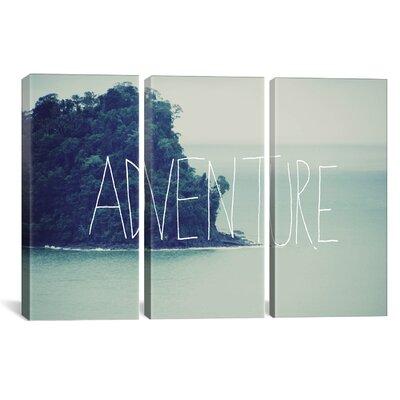 Leah Flores Adventure Island 3 Piece Graphic Art on Wrapped Canvas Set LFS2-3PC3-60x40