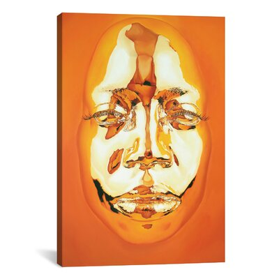 Diovadiova Chrome Joyce II by Kip Omolade Graphic Art on Gallery Wrapped Canvas Size: 18