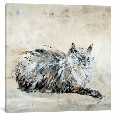 'Toulouse' by Julian Spencer Painting Print on Wrapped Canvas Size: 18