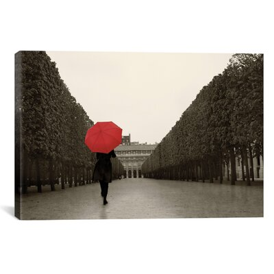 Paris Stroll I Feet by Sue Schlabach Graphic Art on Wrapped Canvas Size: 40