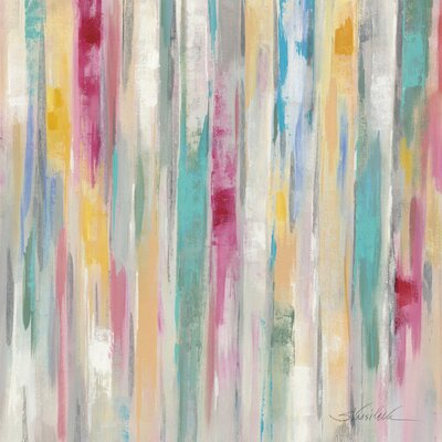 'Spring Window' by Silvia Vassileva Painting Print on Wrapped Canvas Size: 37