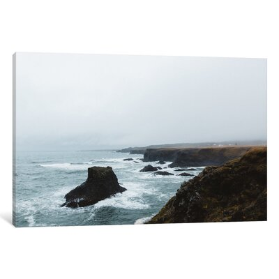 'Coasts on Iceland' by Christopher Kerksieck Photographic Print on Wrapped Canvas Size: 26