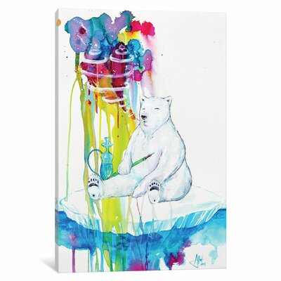 'Mint' by Marc Allante Painting Print on Wrapped Canvas Size: 40