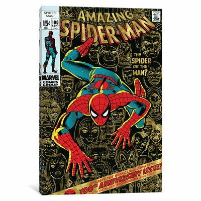 'Marvel Comics Retro' by Marvel Comics Vintage Advertisement on Wrapped Canvas MRV1484-1PC3-12x8