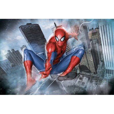 'Ultimate Spider-Man' by Marvel Comics Graphic Art on Wrapped Canvas MRV1460-1PC3-12x8