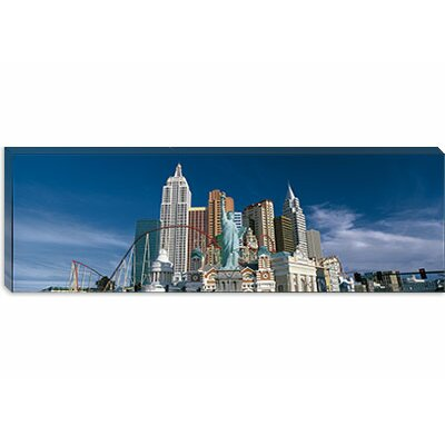 """icanvas Panoramic Casino Las Vegas NV Photographic Print on Canvas - Size: 24"""" H x 72"""" W x 1.5"""" D at Sears.com"""