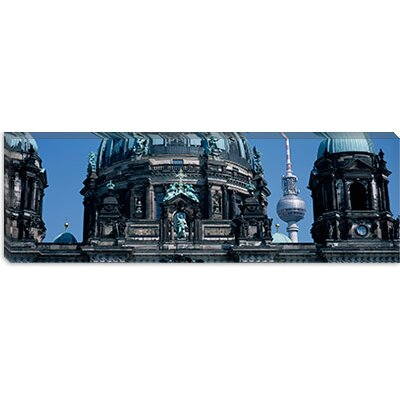 "iCanvasART Berliner Dom, w/ Television Tower (Fernsehturm) in Distance, Berlin, Germany Canvas Wall Art -Configuration:1 Panel, Size:12"" Hx at Sears.com"
