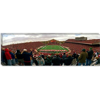 "iCanvasART Camp Randall Stadium, University of Wisconsin, Madison, Dane County, Wisconsin Canvas Wall Art -Configuration:1 Panel, Size:24"" at Sears.com"