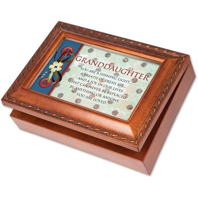 Traditional Granddaughter Music Box